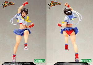 Kotobukiya Street Fighter Sakura Bishoujo Statue 1/7 Aus Stock