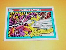 Silver Surfer vs Mephisto # 96 1990 Marvel Universe Series 1 Trading Card