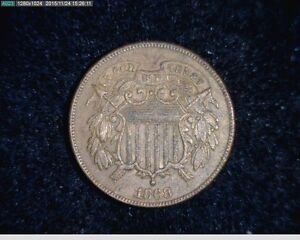 1868 Two Cent  2c ( # 12s137 )