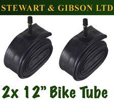 2 x IGNITE 12 INCH INNER BICYCLE TUBE TUBES 1.75 - 2.125 MOUNTAIN BIKE SCHRADER