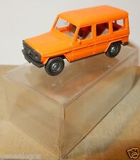 MICRO WIKING HO 1/87 MERCEDES BENZ 230 GE 4X4 ORANGE IN BOX