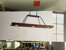 Scott Living Oakmont Island Industrial Linear LED Pendant Light(5R2.052)