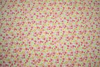 "Quilt Fabric Floral Print Craft Apparel Bedding Multi Colors By Yard 45"" W #126"