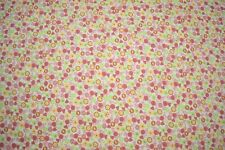 """Quilt Fabric Floral Print Craft Apparel Bedding Multi Colors By Yard 45"""" W #126"""