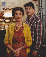 June Brown & John Altman Hand Signed 8x10 Photo Autograph, Eastenders Dot & Nick