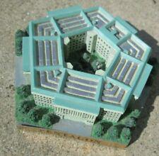 "Vtg The Pentagon Model Us Military Hq Building Washington Dc 4"" wide Vg+"