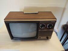 Vintage tv set hitachi. Working.  B/W