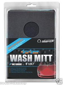 NANOSKIN AUTOSCRUB AS016  Mitt FINE Grade Clay Surface Bar Towel Speedy