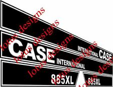 case international 885XL decals / stickers