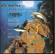 GUINEA 2009 MARINE LIFE SHEETLET (no 2)  MNH