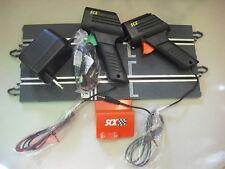 OFERTON Scalextric Conjunto de Conexiones tipo Jack; 2 mandos, transformador