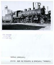 Spokane Portland & Seattle #456 Portland Oregon VINTAGE PHOTO-Railroad