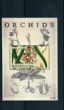 Mayreau Grenadine SAINT VINCENT 2011 MNH ORCHIDEE IV S / S II FIORI FLORA catasetum