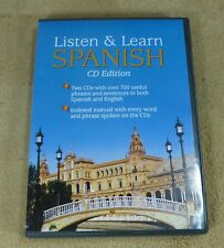 LISTEN & LEARN SPANISH CD EDITION - 2 CDs and MANUAL