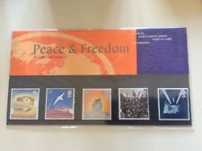Peace & Freedom Royal Mail Mint Stamps