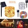10M 20M LED Solar String Fairy Lights Party Xmas Wedding Garden Outdoor Decor SS