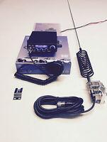CB Radio AM/FM Starter Kit Team TS-6M + Springer CB Antenna & 4 Bolt Bar  Kit