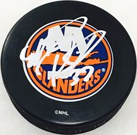 Mark Parrish Signed New York Islanders NHL Puck - COA - Florida Panthers - USA