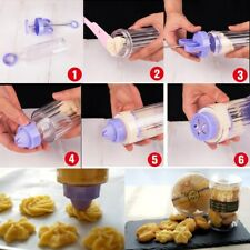 Cookie Biscuit Making Maker Pump Press Machine Decor Gun Kitchen Tools Set Mold