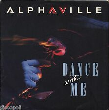 """ALPHAVILLE - Dance with me - VINYL 7"""" 45 ITALY 1986 NM COVER VG+ CONDITION"""