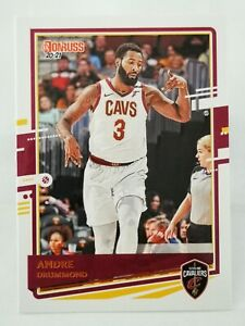 Panini Donruss 2020-21 N12 NBA trading card #184 Cleveland Andre Drummond