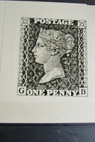 Great Britain Stamp Lot of 3 Stamps # 1 Color Varieties