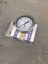 (lot of 6) WGI Elite 250 WJ7642P pressure gauge 0-30psi 2,5'' 1/4npt