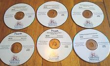 Lot of 60 Misc Christian Heritage CD Messages from 2009-2013