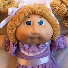 Vintage Coleco Cabbage Patch Kids Doll Butterscotch Double Braids