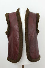 Lined Leather Waistcoat Size 50