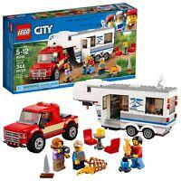 LEGO City Pickup  Caravan 60182 Building Kit (344 Piece)
