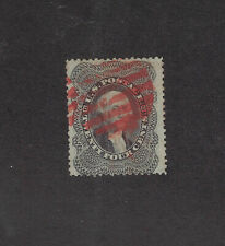 USA Scott # 37 Sound with Red Cancel Used US Stamp