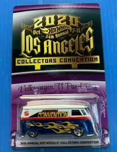 2020 Hot Wheels 34th Annual Collectors Convention Volkswagen T1 Panel Bus