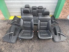 BMW 5 SERIES  E61 525I 04 ESTATE  LEATHER INTERIOR SEATS SET