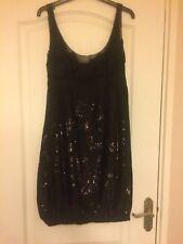 Ladies Monsoon Black Dress Size 10