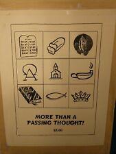 Gospel Magic More Than a Passing Thought Mentalism Prediction Magic Trick