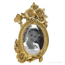 Jugendstil Bilderrahmen Fotorahmen Gold 10x15 Vintage Antik Stil Blumen Design