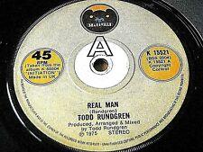 """TODD RUNDGREN - REAL MAN  7"""" VINYL"""