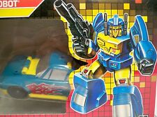 D0520554 NIGHTBEAT HEADMASTER G1 AFA 80 1987 TRANSFORMERS MISB FACTORY SEALED