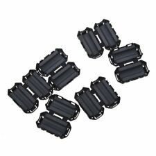6 x EMI/RFI Filtre a noyau de ferrite noir pour le cable de diametre de 7mm N1Q8