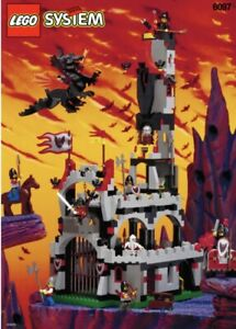 VINTAGE LEGO SYSTEM 6097 FRIGHT KNIGHT LORDS CASTLE RARE RELEASED  IN 1997 NEW
