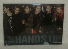 2PM Vol. 2 Hands Up Taiwan Promo Folder (Clear File)