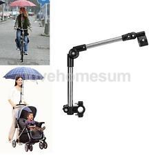 Bike Bicycle Wheelchair Stroller Chair Umbrella Connector Holder Mount Stand