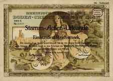 Rheinisch Westfälische Boden Credit Bank 1926 Köln Frankfurt Lone Star 100 RM