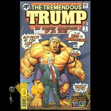 TREMENDOUS TRUMP #1 One-Shot ANTARCTIC PRESS Comics SOLD OUT Ben Dunn NM!