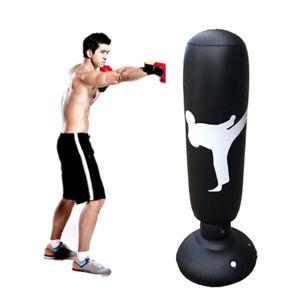 Adults Air Punching Bag Taekwondo Boxing Stress Relief Exercise Punch Kick Hone
