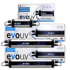 EVOLUTION AQUA UV STERILISER FILTER UVC CLARIFIER EVO GREEN WATER POND FISH KOI