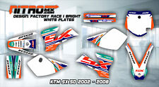 NitroMX Graphic Kit for KTM SX 50 SX50 2002 2003 2004 2005 2006 2007 2008 Decals