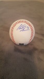 Curtis Granderson autograph signed official MLB baseball With JSA COA