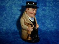 Vintage ROYAL DOULTON 10cm Miniature Character Jug Winston Churchill FREE UK P&P